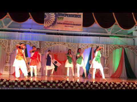 Girls performance @ India Independence Day celebrations