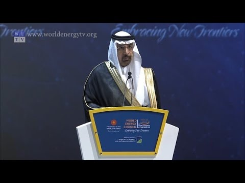World Energy Congress | Khalid Al-Falih, Minister of Energy, Kingdom of Saudi Arabia