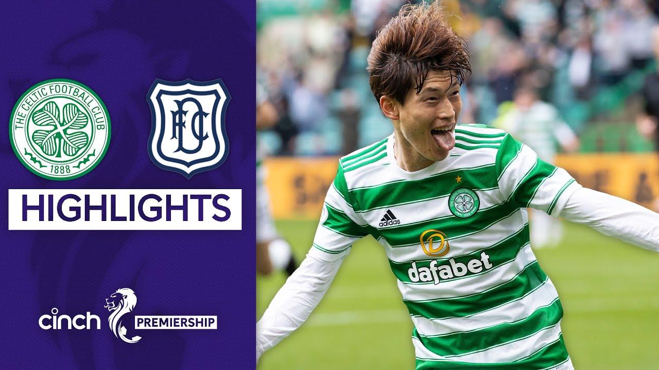 Download Kyogo Furuhashi Scores Home Debut Hat-Trick!   Celtic 6-0 Dundee   cinch Premiership