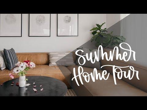 Summer Home Tour 2019 | Modern + Botanical