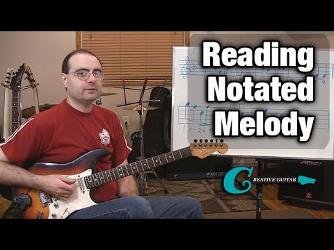 MUSIC READING - Level 3: Reading a Notated Melody