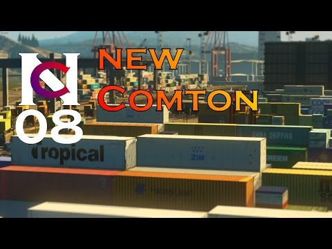 Cities Skylines No. 08 - New Comton: Harbour