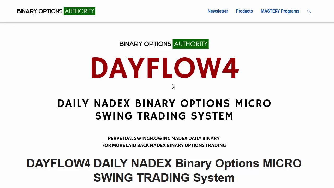 ❶ Nadex binary options youtube scam singapore