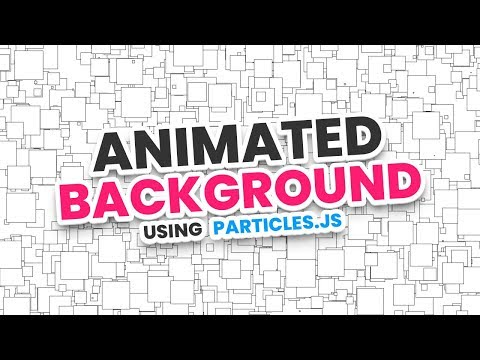 Animated Background Using Particles.js thumbnail