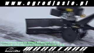 Glebogryzarka Musstang 3 pług do sniegu Jl