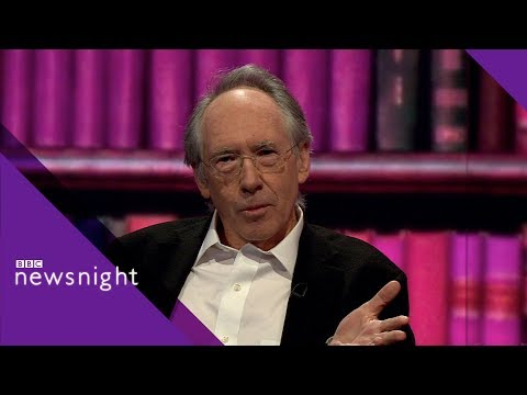 Ian McEwan on the burka and freedom of speech  - BBC Newsnight