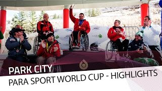 Ferriani pays a visit to Park City | IBSF Para Sport Official