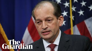 Trump labor secretary Alex Acosta defends Epstein plea deal
