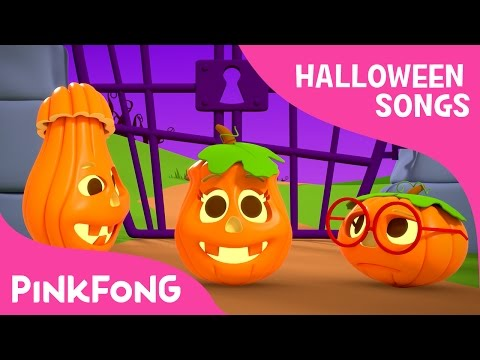 Five LIttle Pumpkins  Halloween Songs  PINKFONG Songs for Children