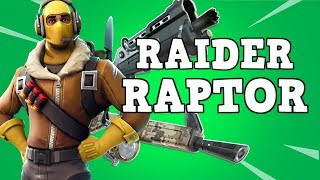 LEMME GET THAT RAIDER RAPTOR!! Level 100 Collection Book! | Fortnite Save The World