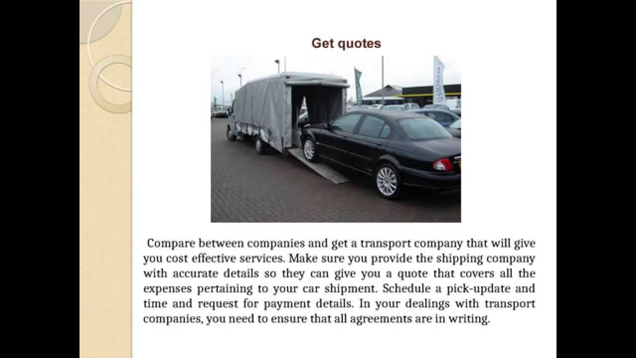 Cost To Ship Car Across Country >> How Much Does It Cost To Transport A Car Across The Country Ppt