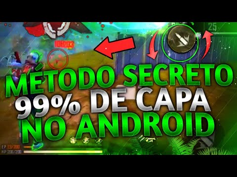 SAIU!! MÉTODO ATUALIZADO PARA SUBIR CAPA NO ANDROID!! NOVA ATUALIZAÇÃO!! 99% CAPA!! FREE FIRE