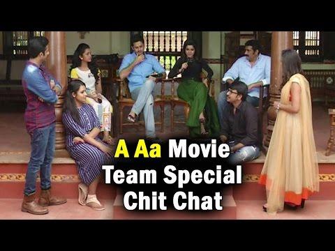 A Aa Team Special Interview || Nithiin || Samantha || Anupama || Rao Ramesh || Trivikram Srinivas