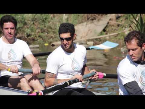 Deportistas olímpicos se juntaron por una linda causa
