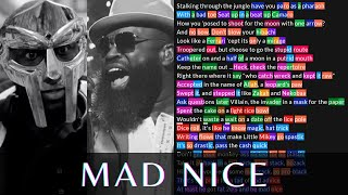 MF DOOM & BLACK THOUGHT - Mad Nice | Lyrics, Rhymes Highlighted