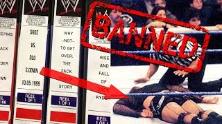 6 Pieces of WWE Footage WWE Will NEVER Release To The Public!
