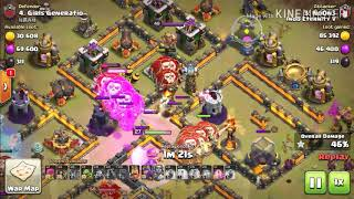 Clash Of Clans - Clan War Attack with Air Troops Indo Eternity VF