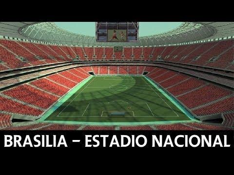 Estadio Nacional Brasilia - FIFA World Cup 2014 Brazil