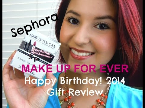Sephora 2014 Make Up For Ever Birthday Kit