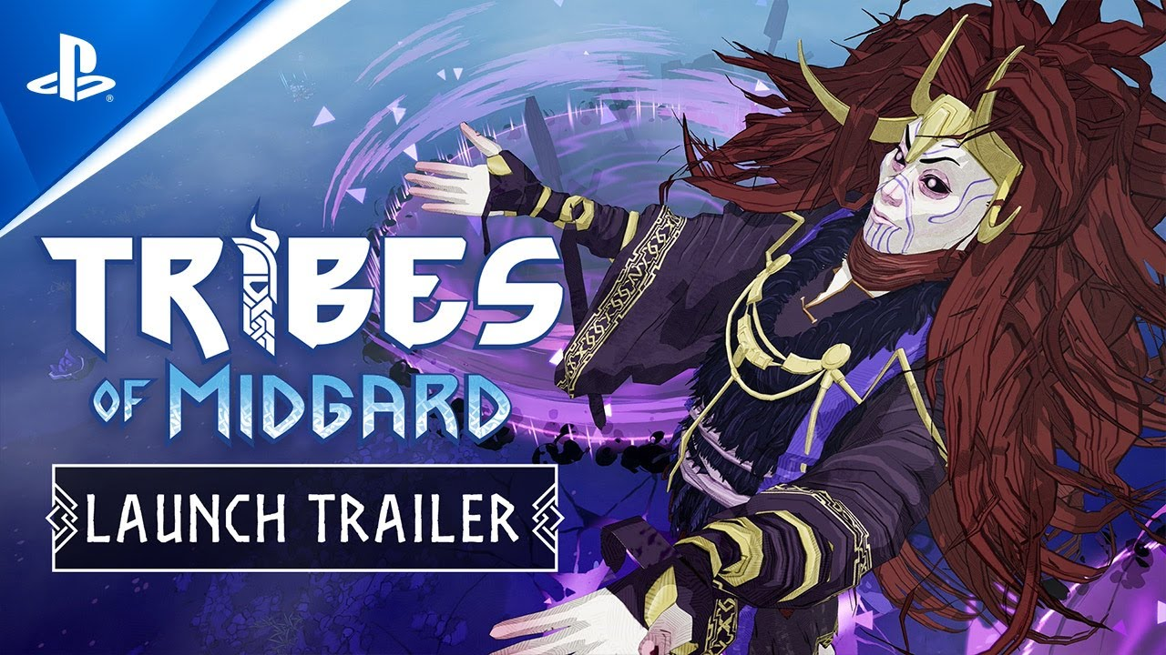 Tribes of Midgard Launch Trailer