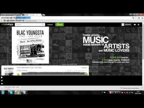 [Tutorial] - Hospedando música através do Hulkshare.