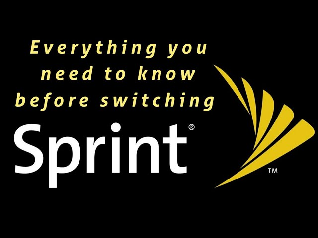 Do Not Switch To Sprint Until You Watch This Video Sprint Plans Pricing Network Youtube