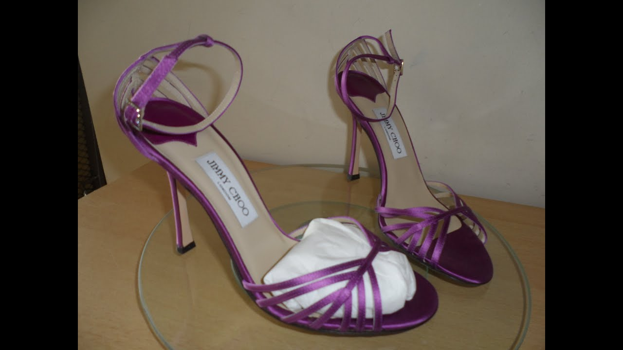 70670e7e8eb1 HOW TO SPOT FAKE JIMMY CHOO BY HAVING A CLOSE UP LOOK AT MY NEW PAIR OF J C  STILETTO SHOES HEELS