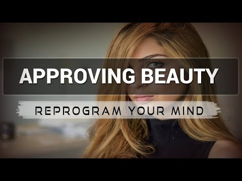Approving Beauty affirmations mp3 music audio - Law of attraction - Hypnosis - Subliminal