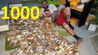 Kupili 1000 (tysiąc) wafelków Prince Polo. Ile wygrali?!