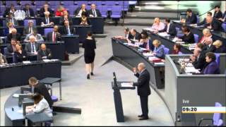 Letzte Rede von Gregor Gysi als Fraktions-Chef: 25 Jahre Deutsche Einheit (+ Zwischenrufe)