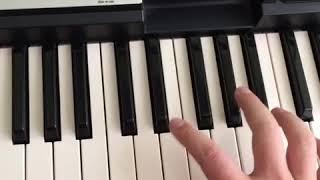 Dalmata Ft Zion Y Lennox Dulce Carita acordes, piano cover by DJDAMO.mp3