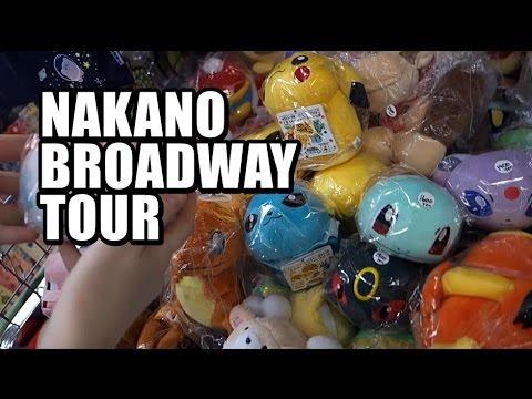 Nakano Broadway Tour - Tokyo Japan