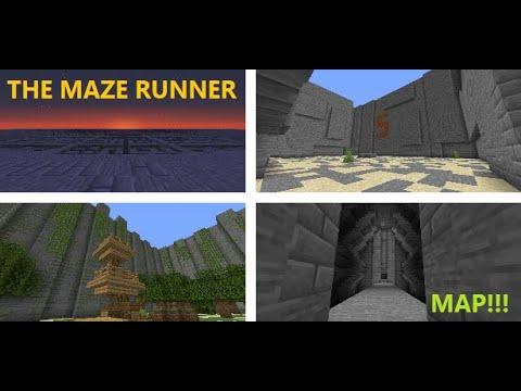 THE MAZE RUNNER MAP - BY HTPVIDAL - 1. 15. 2 - YouTube
