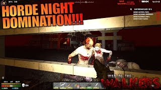 HORDE NIGHT DOMINATION!!! | WotW MOD 7 Days to Die | Let's Play Gameplay Alpha 16 | S03E18