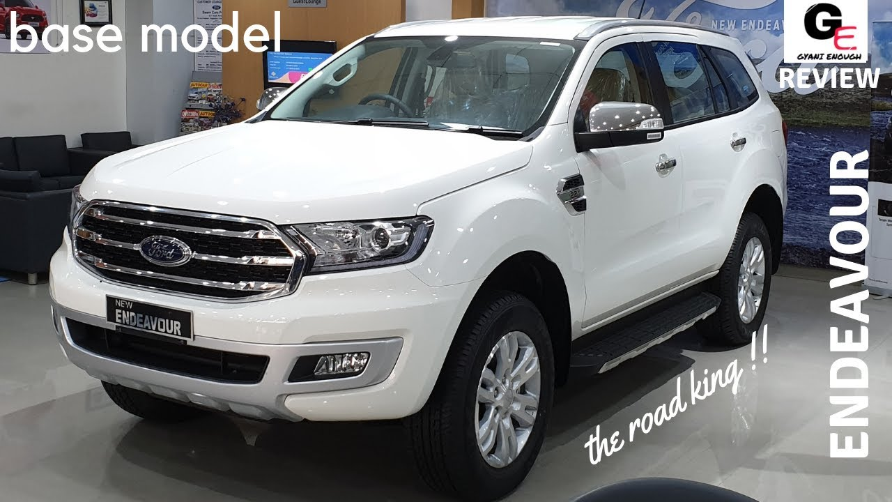 2019 Ford Endeavour Titanium 🔥 | base model | detailed review | features |  specs | price !!!