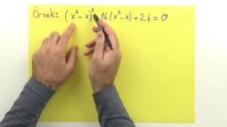 2. Dereceden denkleme dönüştürme 2 Şenol Hoca Matematik