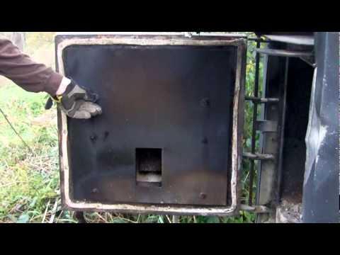 wood heater door 2