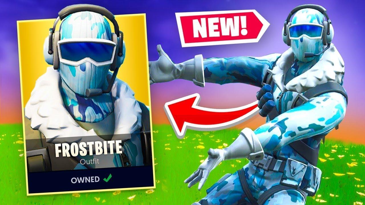 Fortnite got a COOL New Skin! - YouTube