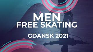 LIVE Men Free Skating Gdansk 2021 JGPFigure