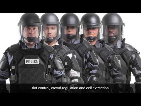 How To Size TacCommander: One Adjustable Riot Gear For Multiple Sizes