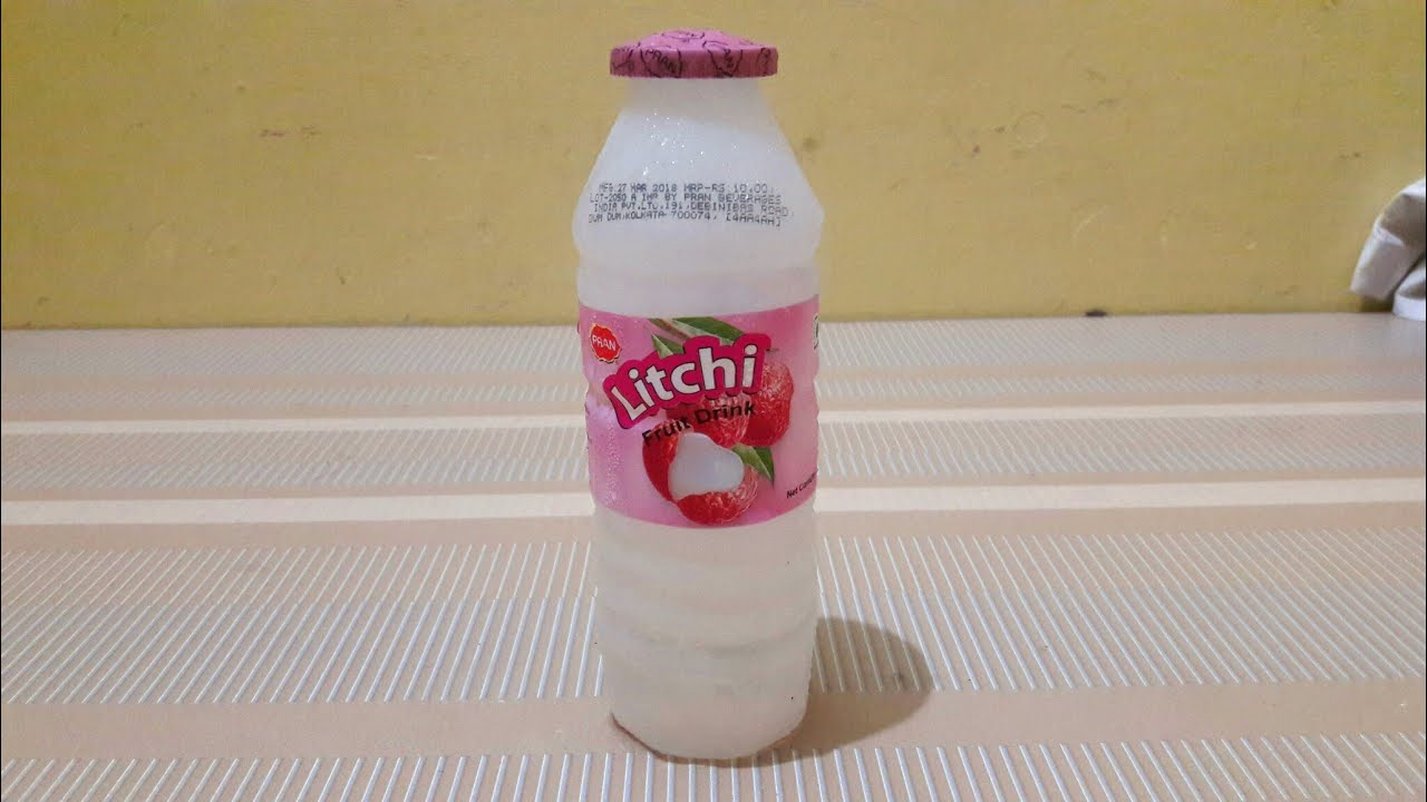 Pran Litchi Fruit Drink प्राण लीची ड्रिंक ₹10 Unwrapped