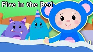 Five in the Bed and More | Songs for Kids | Baby Songs from Mother Goose Club!