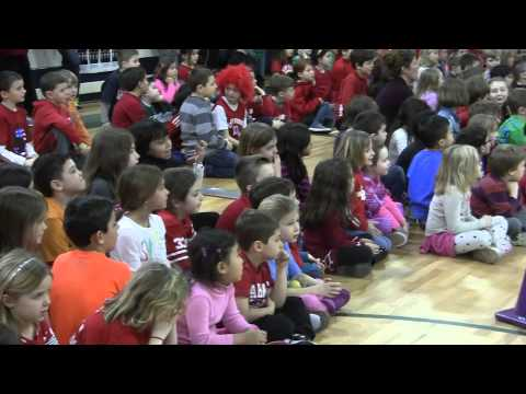 """Victory Song"" at Setauket Elementary School"