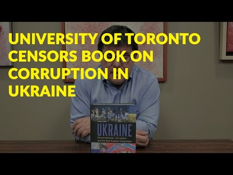 University of Toronto censored by Ukrainian oligarch Rinat Akhmetov - Preview