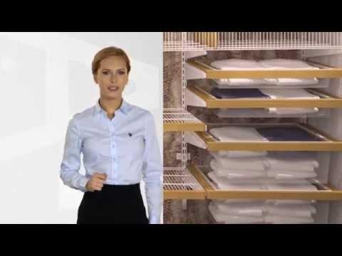 Двери для системы хранения для гардеробных