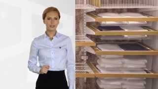 Системы ARISTO (шкафы-купе, гардеробные, стеллажные, подвесные двери) в типовой квартире.(В этом ролике рассказывается о применении всех систем