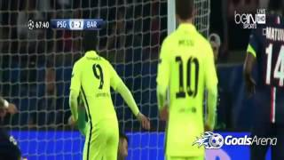goals psg vs fcb 2015 16 04 2015
