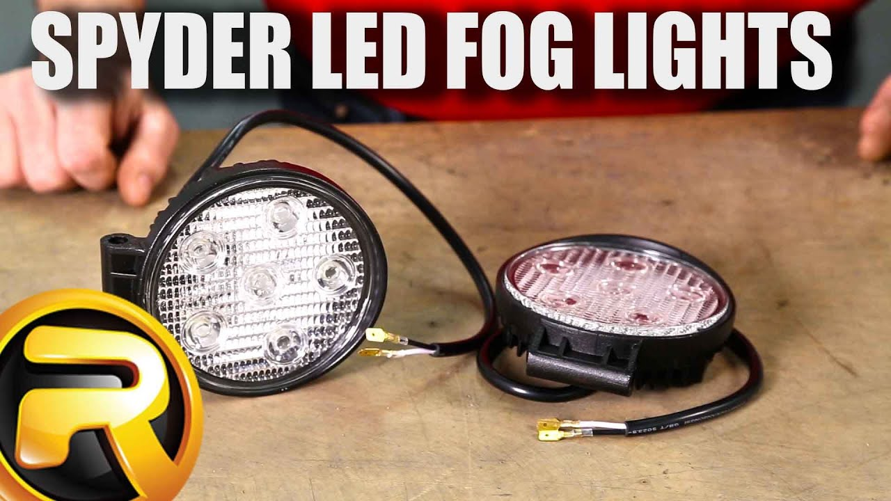 How To Install Spyder Led Fog Lights Youtube 1998 Buick Regal Starter Wiring Diagram