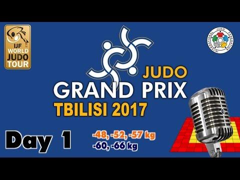 Judo Grand-Prix Tbilisi 2017: Day 1