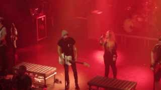 All Time Low - Time Bomb (With rude fan on stage) (HD) (Live @ Store Vega, Copenhagen. 21-02-14)